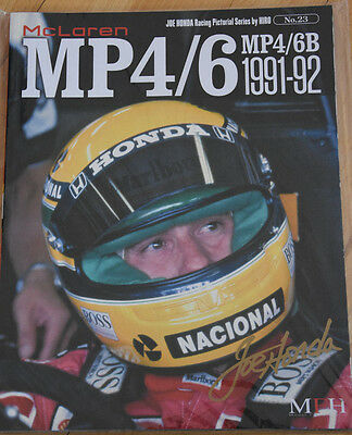 Book no.23, McLaren MP4/6B 1991-92 von Modelfactory Hiro