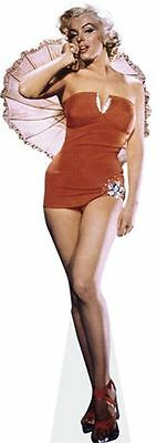 Marilyn Monroe Cardboard Cutout (lifesize OR mini size). Standee. Stand Up.