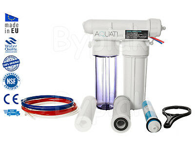 3 Stage RO Reverse Osmosis Filter Tropical Marine Aquarium 50/75/100/150GPD