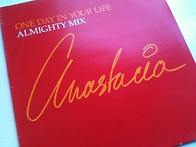 "Anastacia - One Day In Your Life Mixes - 12"" Vinyl Record Dj"