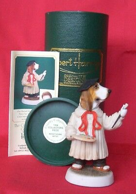 Robert Harrop 1994 Collectors Piece Basset Hound Artist Country Companions Bnib