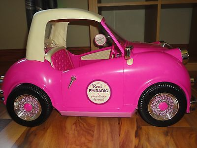 "for American Girl doll/Battat/Gotz/18""Our Generation cruiser buggy music Car Kit"