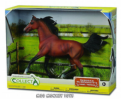 ARABIAN STALLION Bright Bay CollectA #89460 (88537)Horse Replica 1:12 scale