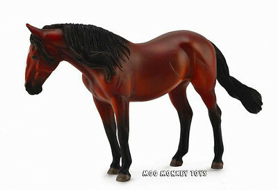 LUSITANO MARE Bay in Window Box CollectA #89664 (88693) Horse Replica 1:12 scale