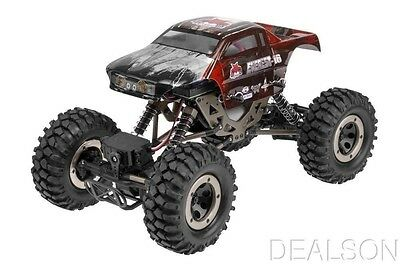 Everest 1:10th scale RC Monster Rock Crawler Redcat RTR Truck Red