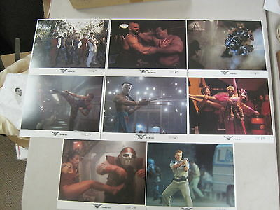 Vintage 1994 Street Fighter Lobby Card Set Jean-Claude Van Damme Raul Julia