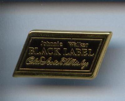 Rare Pins Pin's .. Alcool Scotch Whisky Whiskey Black Label Johnny Walker Or ~Ct