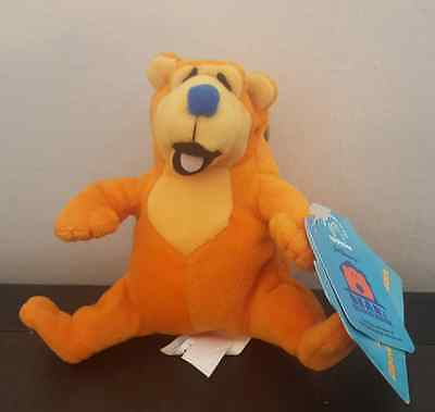 """NWT Bear in the Big Blue House Bear Fisher Price Bean Jim Henson 4"""" Applause"""