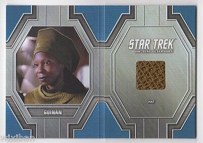 Star Trek 50th Anniversary Relic Costume Card RC15 Guinan - Goldberg