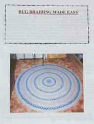 Rug braiding made easy, instructions for braided rugs.  Lots of good info.