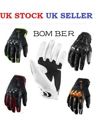 Fox Bomber MX Motocross Enduro Mountain Bike BMX MTB DH Full Finger Gloves KTM
