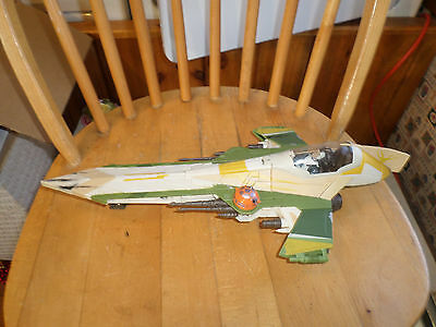 2001-02  X-Wing Fighter Hasbro Star Wars Episode II Attack of the Clones Lucas F