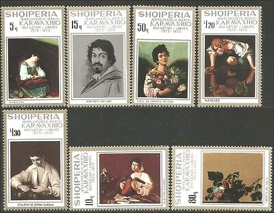 Albania 1973 Michel-Ange Michelangelo Paintings MNH ** (32)