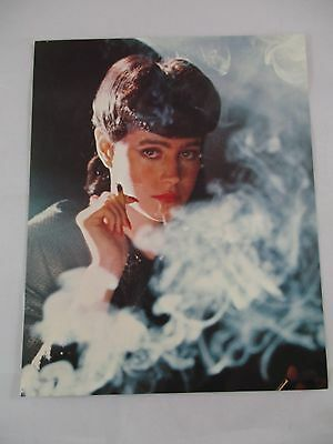 Vintage 1982 Blade Runner Movie Sean Young Smoking Lobby Card 8x10 WB