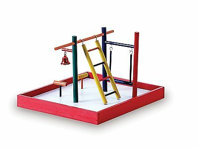 Prevue Hendryx Pet Products Parakeet Park Playground Multi