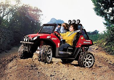 Peg Perego IGOD0516US Polaris RZR Ranger Red