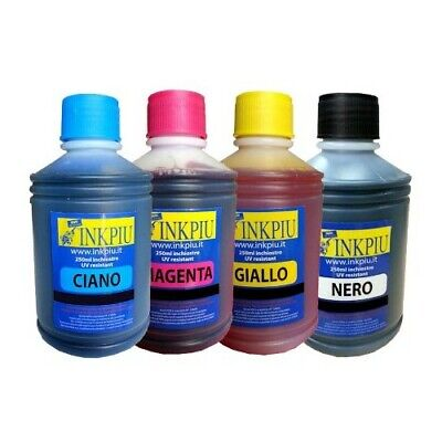 INCHIOSTRO INKPIU PER EPSON - BROTHER 250ML NON ORIGINALE Colore BLACK - #3531
