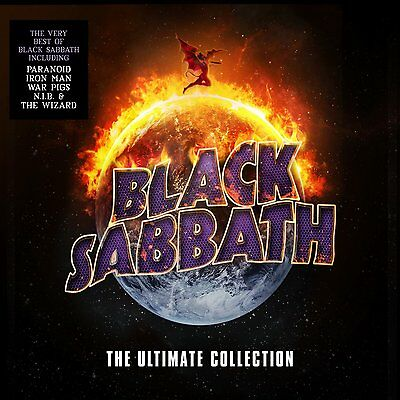 PRE ORDER: BLACK SABBATH - THE ULTIMATE COLLECTION  (CD) Sealed