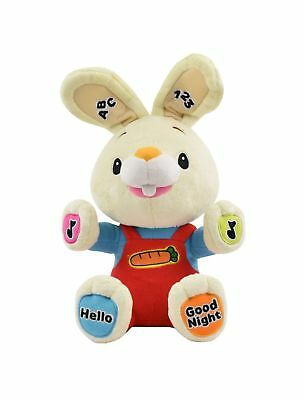 Baby First TV  Play & Sing Harry the Bunny Interactive Toy Stuffed Animal Plu...