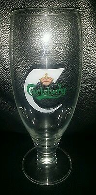 Rare Collectable 250Ml Carlsberg Beer Glass In Good Used Condition
