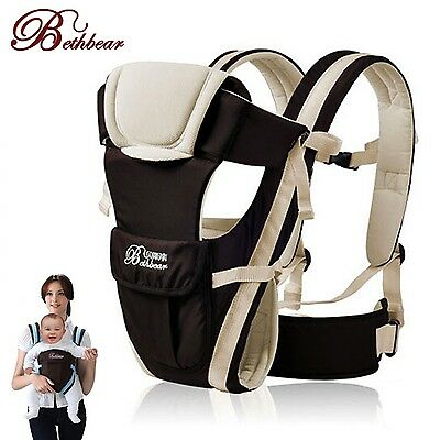 Baby Carrier Breathable Multifunction Kangaroo Backpack Wrap Outdoor