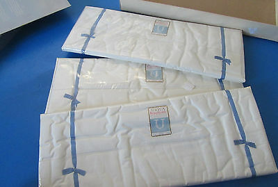 Vintage 3 Queen Sheets Original Packaging 200 Count Percale Utica Beauticale NOS