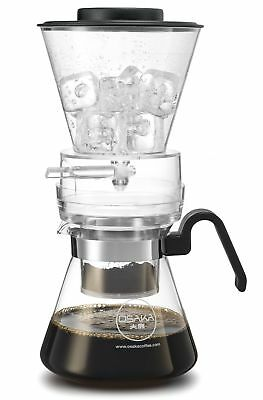 Osaka 4 Cup (20oz/600ml) Cold Brew Coffee Dripper Adjustable Dripper with Gla...