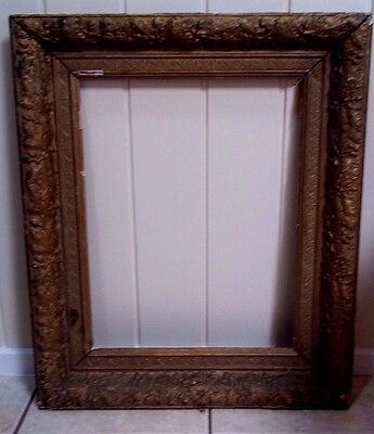 Antique Victorian Picture Frame , for Restoration .