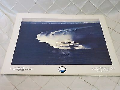 Photograph High Performance Test Craft SES-100A US Navy Print