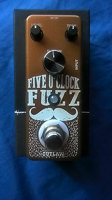 Outlaw Five O Clock Fuzz Pedal
