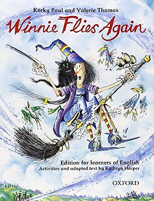 Winnie Flies Again: Story Book (with Activity Booklet) (Winnie The Witch)