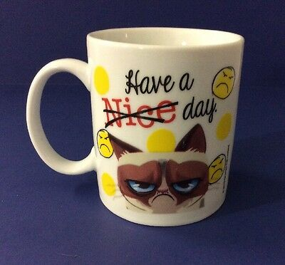 Ganz Grumpy Cat Mug Have A Nice Day Grumpy Cats Collectible Coffee Cup