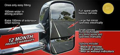 American style Extending towing mirrors/5th wheel/Demountable camper