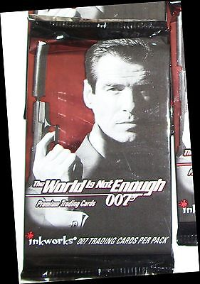 1999 Inkworks James Bond: The World Is Not Enough sealed pack Pierce Brosnan