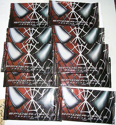 2007 Rittenhouse Archives Spider-Man 3 (Movie) lot of 10 sealed packs