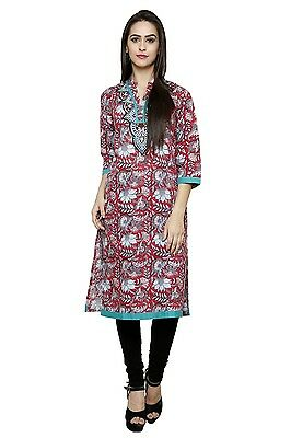 Indian Bollywood Kurta Kurti Designer Women Ethnic Dress Top WOMEN CLOTHING EDH
