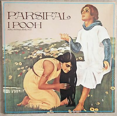 I Pooh-Parsifal Lp 1° stampa 31/08/1973 con booklet record NM