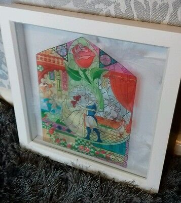 ** BEAUTY AND THE BEAST boxed frame **