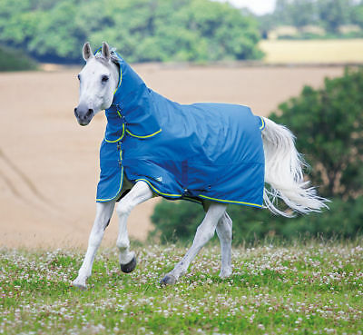 Shires Tempest 100g Combo Fixed Neck Summer Turnout Rug Medium Lightweight
