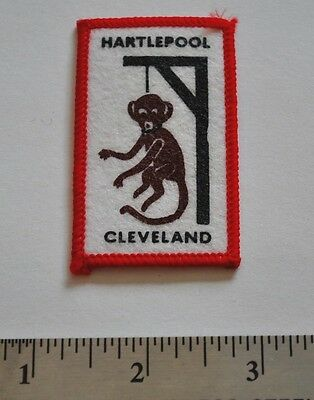 Hartlepool, Cleveland, Monkey Hanging, UK, Boy Scouts Badge Patch