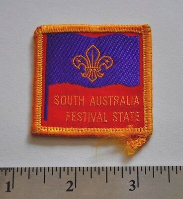 South Australia Festival State, Boy Scouts Badge Patch