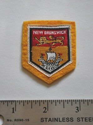New Brunswick, made in Japan, Boy Scouts Badge Patch