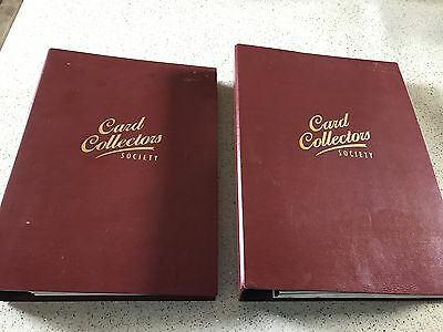Card Collectors Society 2 Volumes Of Full Set Cards (42) - Mint Condition