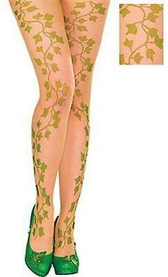 DC COMICS Licensed POISON IVY Adult TIGHTS Costume PROP One Size COSPLAY