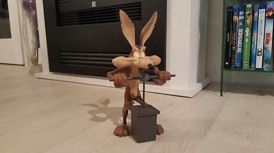 Extremely Rare! Looney Tunes Wile E Coyote on Dynamite Trigger Leblon LE Statue