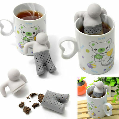 COLINO SILICONE INFUSORE THE E TISANE FILTRI x INFUSI MR.TEA OTTIMA IDEA REGALO