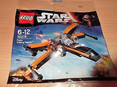 LEGO 30278 DISNEY STAR WARS POE'S X-WING FIGHTER New/Sealed Polybag