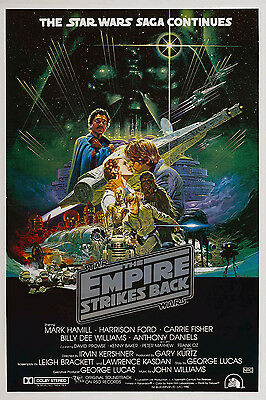 Star Wars Empire Strikes Back Laminated Mini Poster Style 3 Carrie Fisher