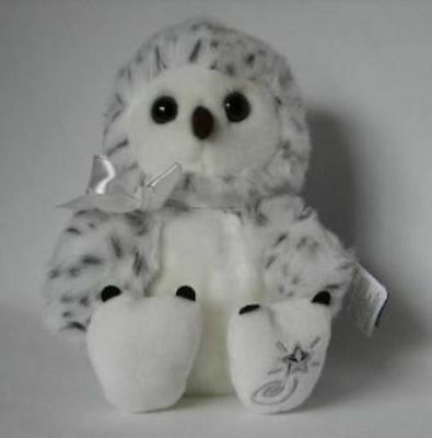 New with Tag Snowy Owl Plush Shining Stars Russ Berrie 34441