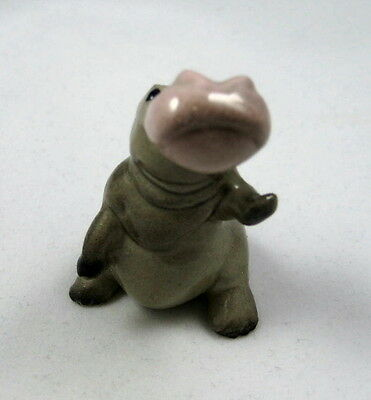 Hagen Renaker miniature made in America Hippo Mama third version retired